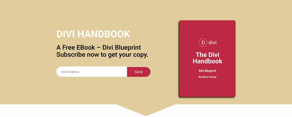 Free Landing Page Divi Layout for EBook   CakeWP